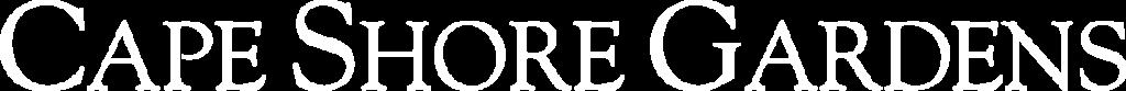 Cape Shore Gardens Logo